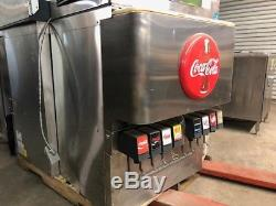 Cornelius 8 Head DF250-BCZ Coke Soda Drink Carbonated Fountain Dispenser withPump