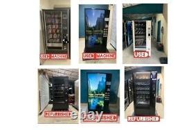 Credit Card Compatible Dixie Narco 600E Soda Vending Machine