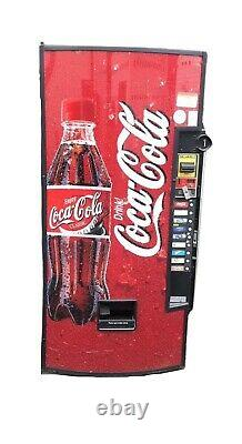 Credit Card Compatible Vendo 601 Soda Vending Machine