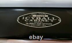 Crosley Icyball Refrigerator 1929. Restored (RARE)