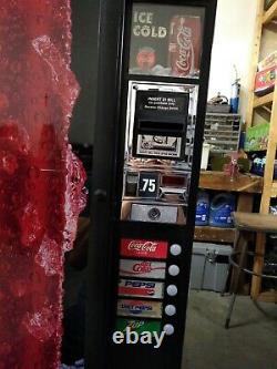 Dixie Narco 180 Mini Cold Beverage Soda Vending Machine very Small Footprint
