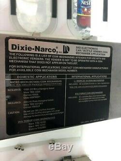 Dixie Narco 276 Coke Bottle Drink Soda Pop Coin Dollar Vending Machine 115 Volt