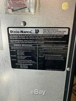 Dixie Narco 276E MC/S11-7 Drink Soda Bottle 7 Selection Vending Machine 115 Volt