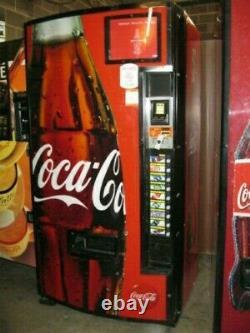 Dixie Narco 501-E Bottles/Cans Coca Cola Soda Vending Machine SALE