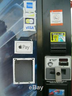 Dixie Narco 501-E Bottles/Cans Soda Vending Machine Credit Card Capable! SALE