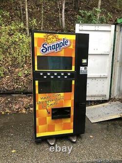 Dixie Narco 501-e 501e Live Display Soda Drink Vending Machine