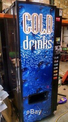 Dixie Narco 501E-9 Soda Pop Vending Machine FREE SHIPPING