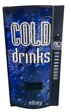 Dixie Narco 501E Soda Beverage Vending Machine Cans & Bottles MDB FREE SHIPPING