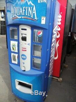 Dixie Narco 522 Hi Visability Soda / Beverage vending machine Aquafina Graphics