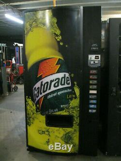 Dixie Narco/Gatorade 501-E Bottles/Cans Soda Vending Machine (CCard Capable)SALE