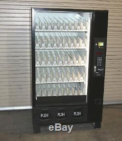 Dixie Narco model 2145 bottle drop soda vending machine tested good