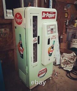 Dr. Pepper Coca Cola Coke Machine Cavalier 72 Pro Restoration Vendo 81