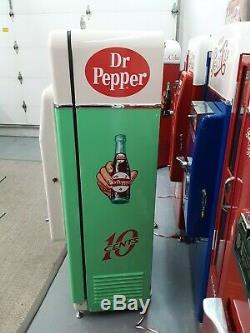 Dr. Pepper Coke Machine Cavalier 72 Professional Restoration Vendo 81 BEST IN US