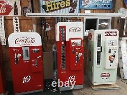 Dr. Pepper Coke Machine Cavalier 72 Professional Restoration Vendo 81 Newly done