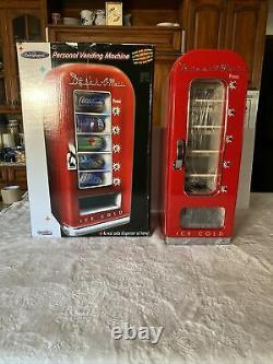 Drink-O-Matic Red Novelty Soda Vending Machine DR-3 10-Can Rare