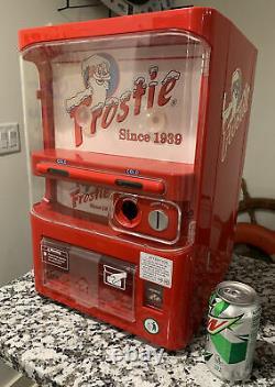 Frostie Root Beer Tabletop Mini Vending Machine Fridge Works
