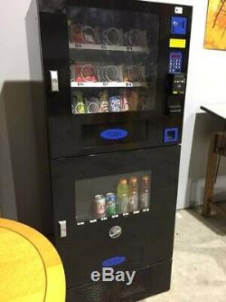 GREAT COMBO SODA / SNACK VENDING MACHINE BY SEAGA PURCO office deli food