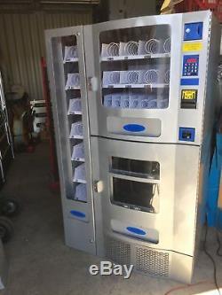 Great Office Deli 3-piece Combo Soda / Snack Vending Machine By Seaga Purco