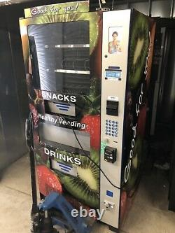 Healthy You Seaga Hy900 Combo Soda / Snack Vending Machine With Entree