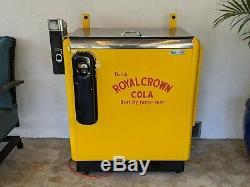 Ideal 55 Slider Embossed Royal Crown Machine coke coca cola Pepsi 7up vendo