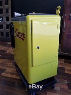 Ideal 55 Slider Embossed Squirt Machine Restored RARE