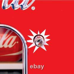 Koolatron CVF18 Coca-Cola Official Design Push Button Vending Machine Fridge