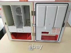 Koolatron Model EC-23 Mini Soda Vending Machine Fully Functional Vintage 10 Cans