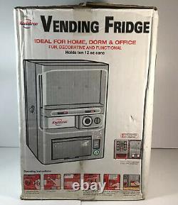 NEW Koolatron Mini Soda Vending Machine Fully Functional 12 Cans NEVER USED
