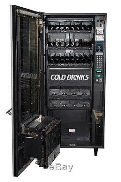 National 474 Refreshment Center Combination Snack Beverage Soda Vending Machine