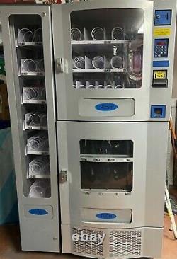 Office Deli 3-piece Combo Soda And Snack Vending Machine By Seaga Purco