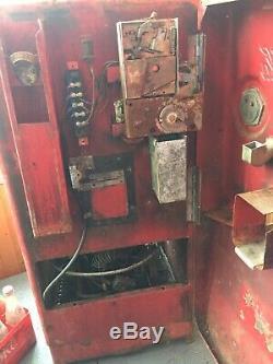 Original 1949 Cavalier C-27 Coke Machine For Restoration