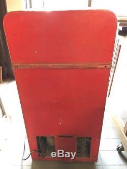 Original 1955 VMC 33 Coca Cola Vending Machine Complete Unrestored Condition