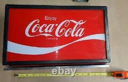 Original Cavalier 64 Square Top Sign Soda coca cola machine wall hanger Pepsi