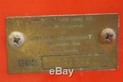 Original Cavalier C-27 Coca Cola Coke Single Selection Vending Machine 1950 C27