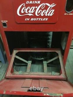 Original Vendo A23 Deluxe Coke Machine Coca Cola Vending Machine