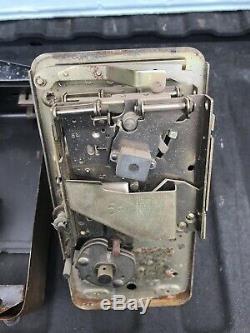 Original Vintage Ideal 55 Slider Coin Mech Soda Machine Vendo Look