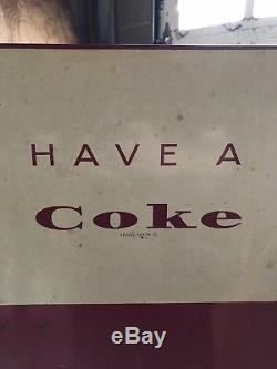 Original vintage Coca Cola bottled vending machine. In working condition. 1960s