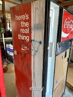 Pair of Vintage Coca-Cola Collector Coke Cavalier 1968-1974 Vending Machines
