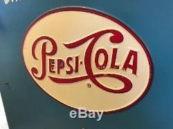 Pepsi Cola Machine Slider Embossed Logo Ideal Great Shape! Model A-55 Coke