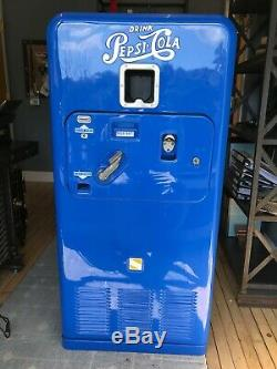 Pepsi-Cola Vending Machine, Model 33, Serial No. 47417B33