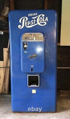 Pepsi Cola Vending Machine VMC 88 1957 Unrestored Rare Item
