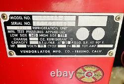 Pepsi Cola Vendorlator Bottle Vending Machine with Key Runs and Cools VFA56BA