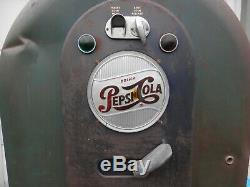 Pepsi Jacobs 56 Vending Machine Original & RARE