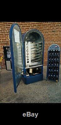 Pepsi cola Jacobs 56 Vendo Selectivend Coca Coke soda machine lighted sign rack