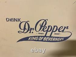 Queen Anne Dr Pepper Vending Machine WORKING