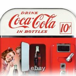 RARE Coca-Cola Lighted Vending Machine Cuckoo Clock