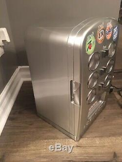 RARE! Drink O Matic Smart Planet Mini Fridge Vending Machine 7-Up Or A&W