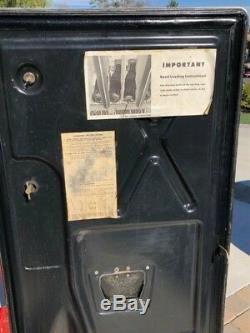 RARE vintage Coca Cola Westinghouse soda dispenser machine Coke cocacola