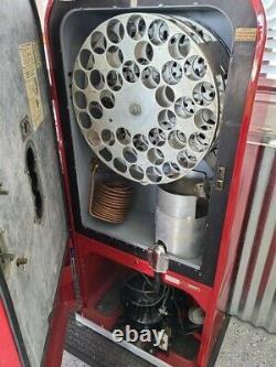 RESTORED Vending Coca Cola Vendo 39 Antique Coke Machine WITH FACTORY FOUNTAIN