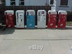 Restored Antique Coca Cola Coke Machines Vendo 81 Cavailer 72 VMC 7up Frosty 81